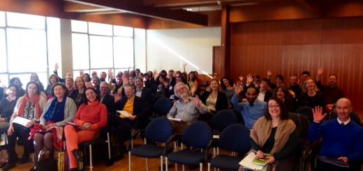 "A view from the speaker's podium, at the start of the IFLA RBSCS's ""A common international standard for rare materials? Why? And how?"" conference, 22 February 2016, Biblioteca Nacional de Portugal"