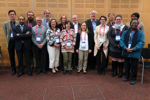 Some of the IFLA RBSC Standing Committee members after their second business meeting in Cape Town in 2015, with observers