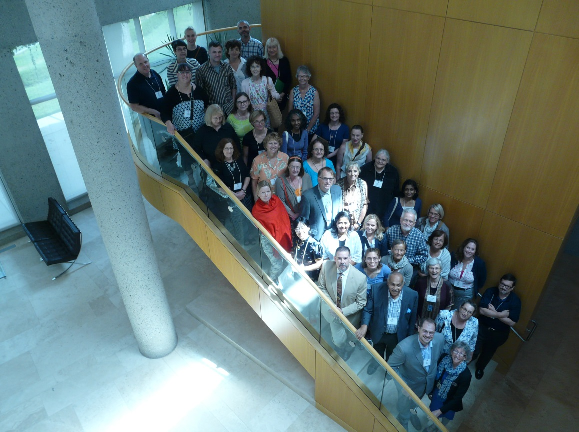 IFLA Pre Conference Delegates at Packard Campus, August 2016.
