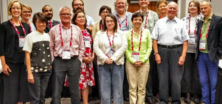 Members of the IFLA Rare Book and Special Collections standing committee at the WLIC 2016, Columbus, Ohio.